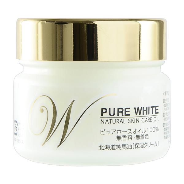 北海道精製純馬油 ピュアホワイト