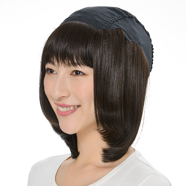 毛付き帽子